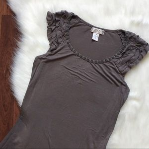 🆕 Kenar Gray embellished T-shirt